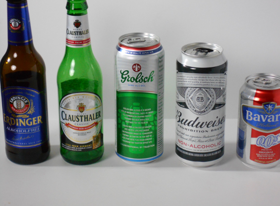 Taste Test, 5 Non Alcoholic Beers